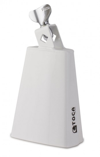 Toca 4425-T Cowbell Cha Cha Bell Low White